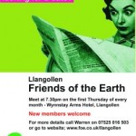 Llangollen meeting poster